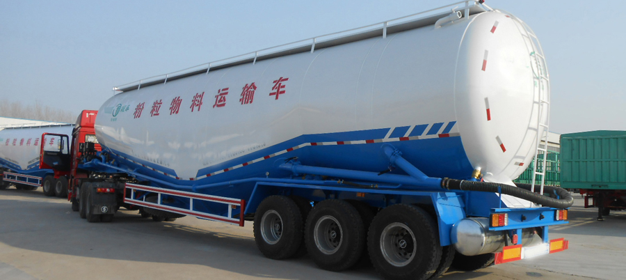 Cement bulk tank semi trailer