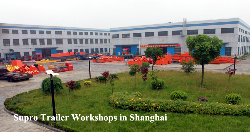 China hydraulic modular trailer factory