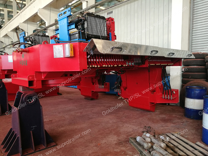 Goldhofer hydraulic gooseneck