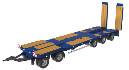 goldhofer semi trailer