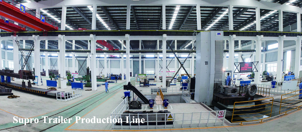 china modular trailer factory