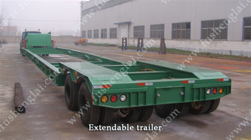 Wind Turbine Blade Trailer