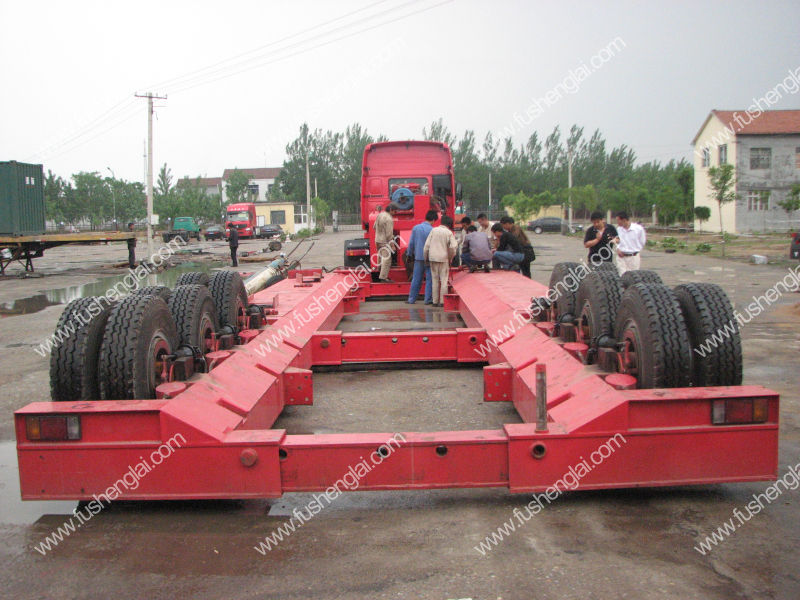 multi axle vehicle