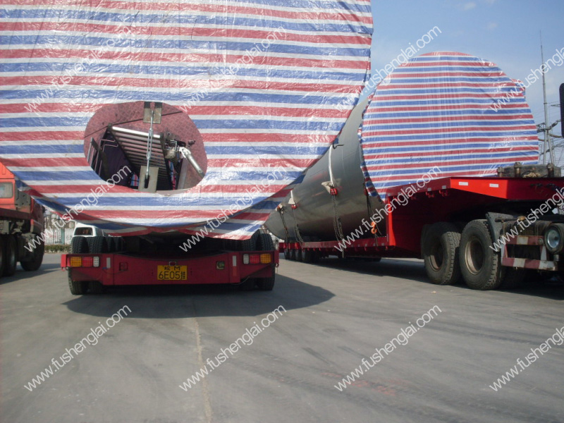 hydraulic axle trailer