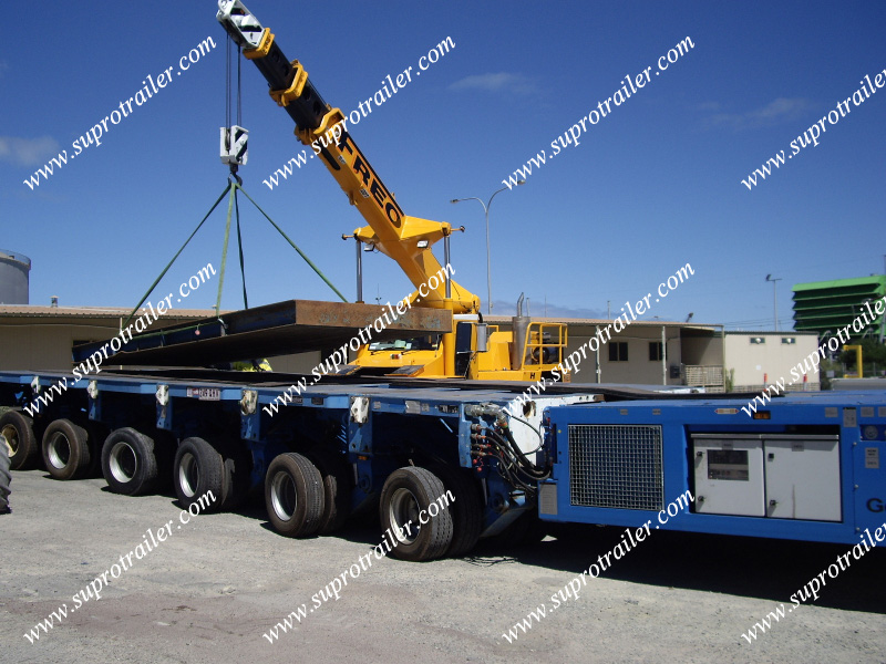 self propelled trailer