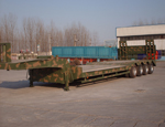4 Axle line Low bed trailer