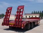 Flatbed Low Bed Trailer