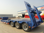 Drop Deck Low Bed Trailer