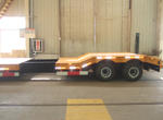 Extendable Low Bed Trailer for Ivory Coast