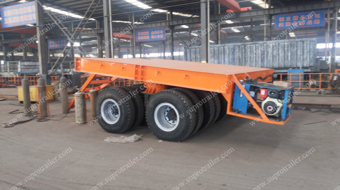 flatbed trailer turntable