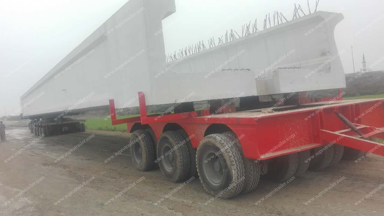 turntable with flatbed trailer