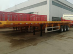Side Tipper Container Trailer