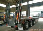 3 Axles Flatbed Trailer