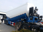 Cement Tank Semi Trailer to Tunisia