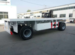 2 Axles Full Trailer for Kuwait