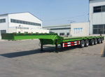 6 axles low bed trailer for Kenya