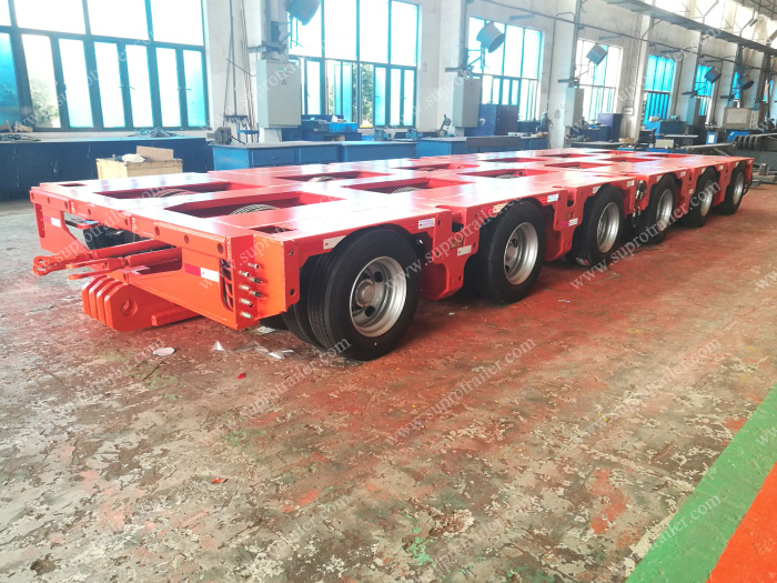 multi axle trailer
