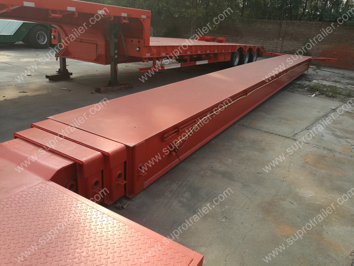 telescoping beams modular trailer