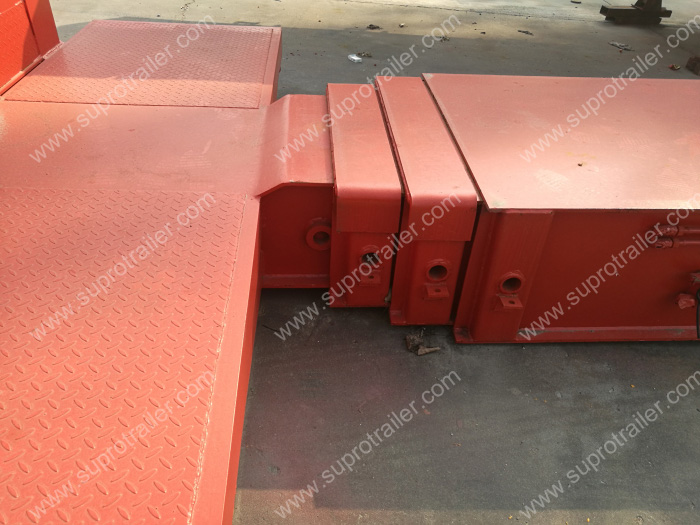 multi axle modualr trailer