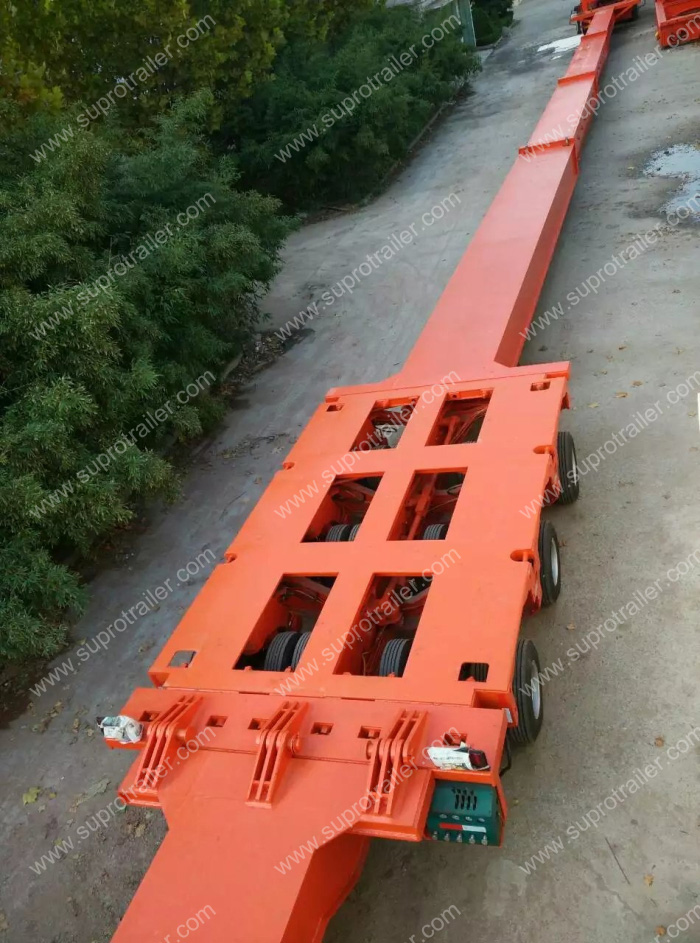 extendable hydraulic trailer
