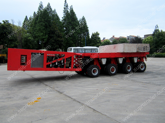 self propelled modualr trailer