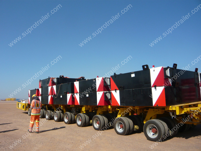 goldhofer self propelled trailer