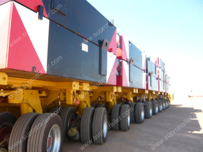 Nicolas self propelled trailer