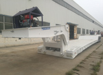 150 Tons Hydraulic Gooseneck Trailer for Peru