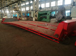 200 Tons Drop Deck Bed for Goldhofer THP/SL