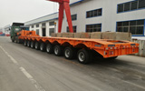 9 Lines Low Bed Trailer
