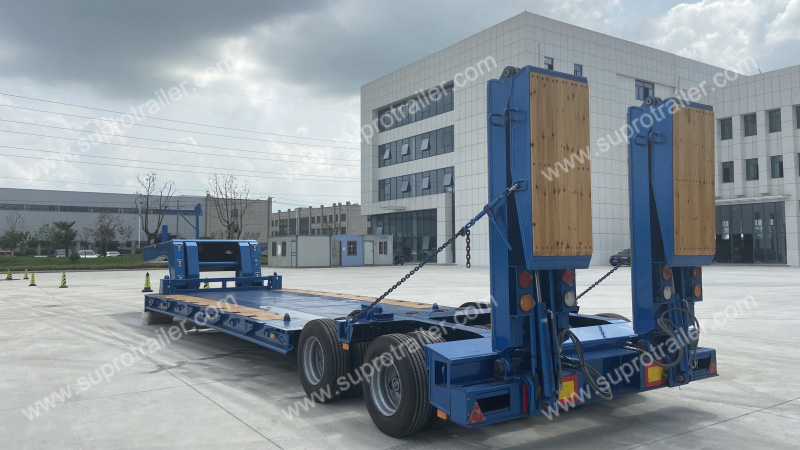 low bed trailer china