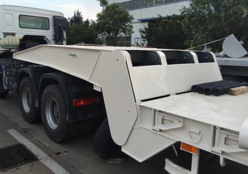 Folding Gooseneck Low Bed Trailer
