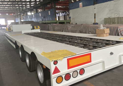 Winch Low Bed Trailer